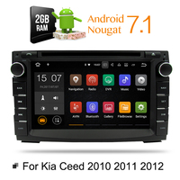 Android 7 1 Car DVD Player GPS Glonass Navigation Multimedia For Kia Ceed 2010 2011 2012