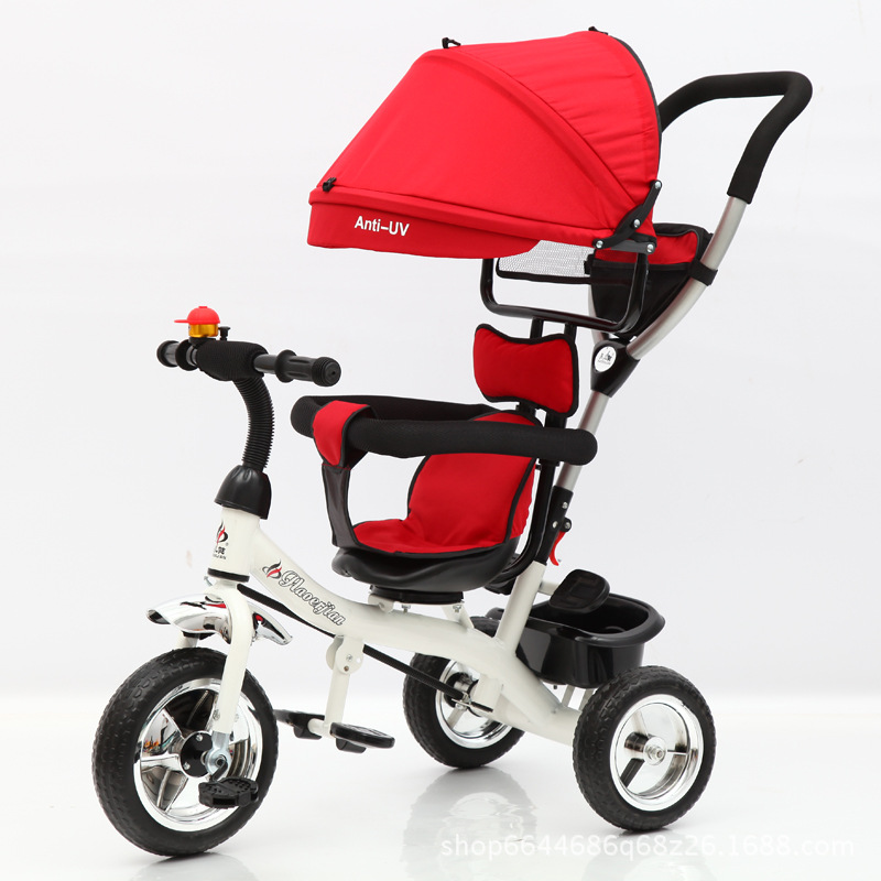 New Child tricycle 1 - 6 baby stroller bike pneumatic wheels ...
