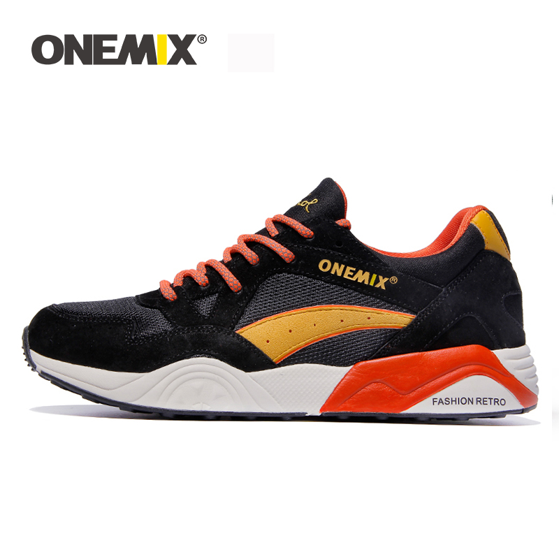 Onemix mens retro running shoes outdoor sports sneakers light breathable shoes men sneaker for outdoor jogging walking trekkingOnemix mens retro running shoes outdoor sports sneakers light breathable shoes men sneaker for outdoor jogging walking trekking