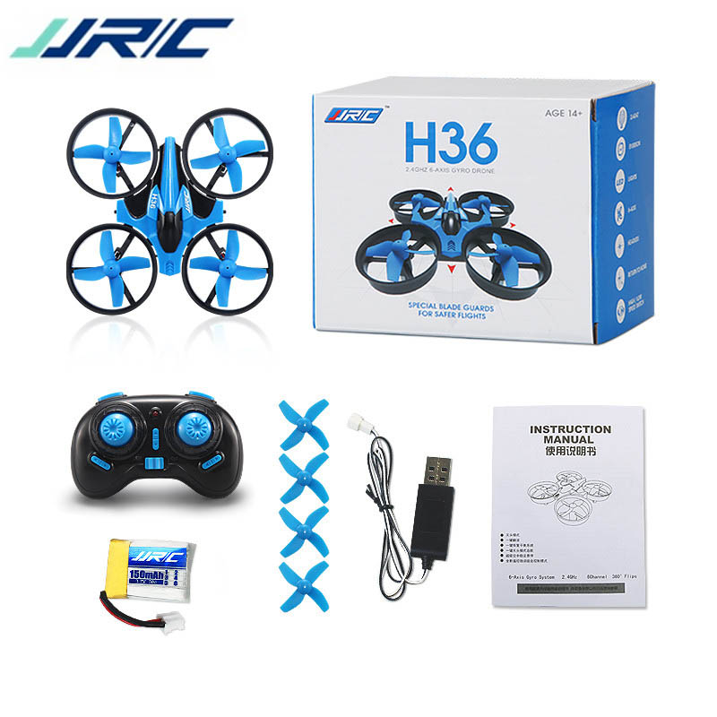 JJR/C JJRC H36 Mini Quadcopter 2.4G 4CH 6-Axis Speed 3D Flip Headless Mode RC Quadcopter RTF Gift Toys VS Eachine E010 H8 Mini mini drone rc quadcopter 2 4ghz 6 axis rc helicopter headless quadrocopter toys gift for kids mini