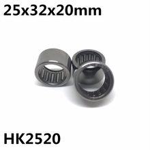 10 шт., игольчатые роликовые подшипники HK2520 25x32x20 мм 67941/25