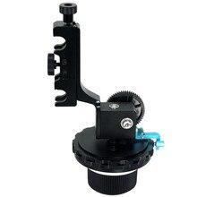 Профессиональные AB предел демпфирования точной фокусировки DSLR Камера Приборы непрерывного изменения фокусировки камеры с регулируемым Шестерни кольцо пояс для Canon Nikon видео