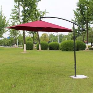 Image 2 - 2.7 metro di ferro in acciaio promozione patio ombrellone da giardino parasole parasole mobili da giardino copre (senza base in pietra)