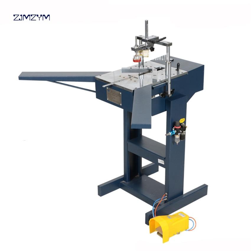 JS PIII 5216 Pneumatic V Nailer 0.6-0.8 MPa Working Pressure Available V Nail Size 7/10/12/15 Mm Pneumatic Nail Angle Machine