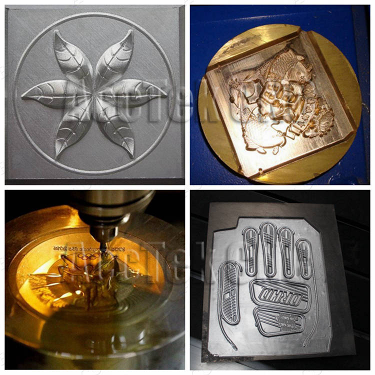 Metal Mould Cnc Router Jewelry Making Cnc Engraving Machines 6060