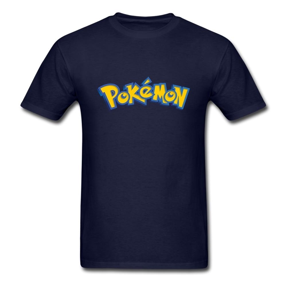 Shirt design brands - Designer Brand Pokemon T Shirt Men Short Sleeve 100 Cotton Graphic Tees Adult Latest Plus