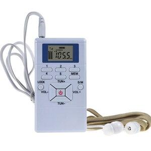 Radio Receiver LCD Display Spe