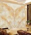 3D занавески Европейский стиль креативные мраморные оконные занавески гостиная печать затемненные фото шторы