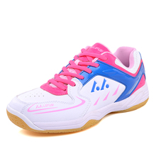 лучшая цена Professional Badminton Shoes Women Kids lining Training Sneakers Men Pingpong Shoe Table Tennis Shoes Fashion zapatos chaussures