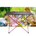 Горячая продажа L размер портативный складной стол Кемпинг Открытый Пикник алюминиевый сплав ультра-легкий