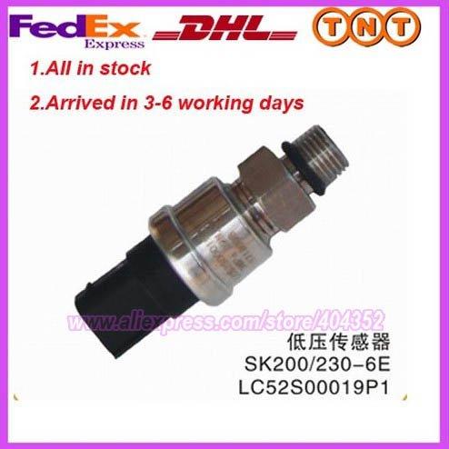 LC52S00019P1 Escavatori SK200-6 SK200-8 SK250-sensore di bassa pressioneLC52S00019P1 Escavatori SK200-6 SK200-8 SK250-sensore di bassa pressione