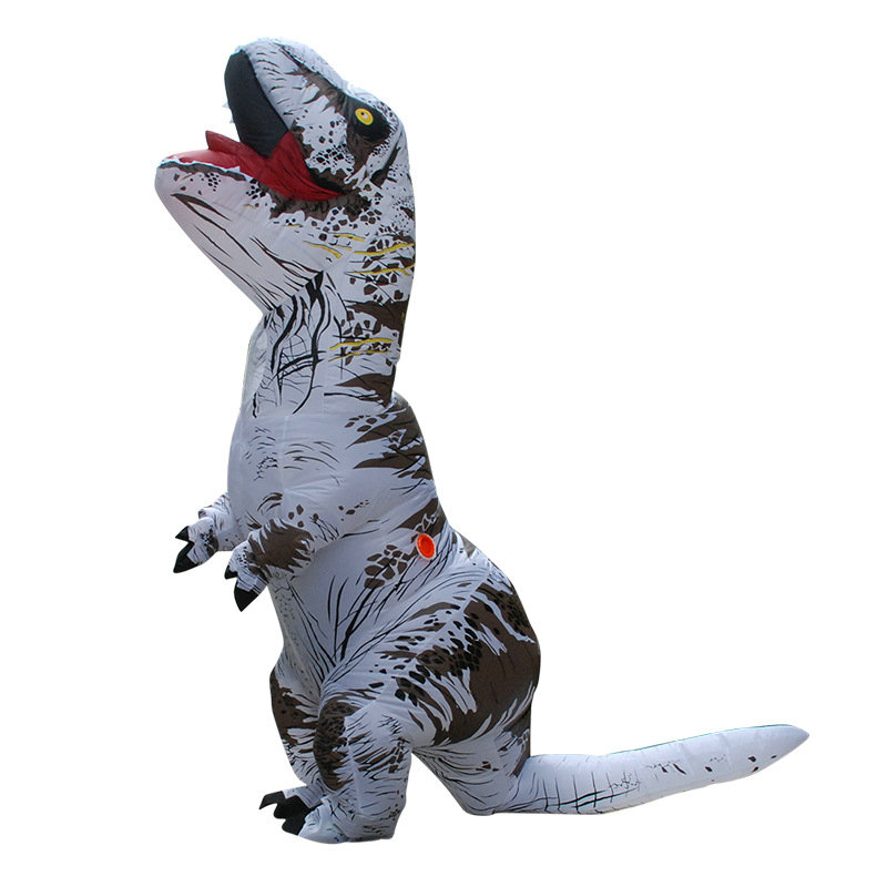 Adult T-REX Inflatable Costume Christmas Cosplay Dinosaur Animal Jumpsuit Halloween Costume for party
