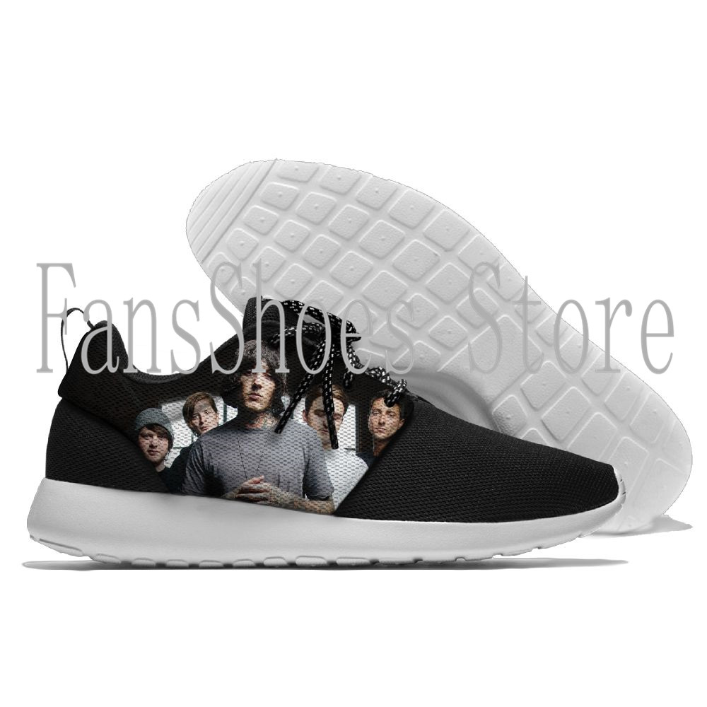 Hot Sale Running Shoes For Men Lace-up Athletic Trainers Bring me to the horizon Sports Male Shoes Outdoor Walking Sneakers