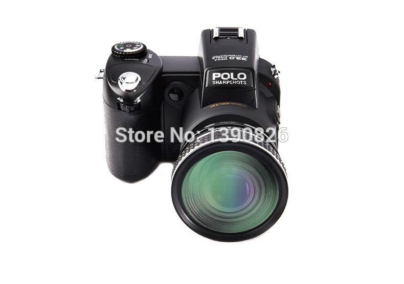 D7200 caméra vidéo numérique 33 millions de pixels caméra numérique professionnelle 24X caméra zoom optique plus lampe frontale à LED gratuit - 4