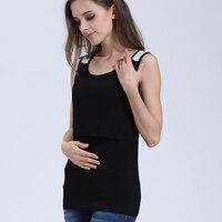 Emotion Moms Summer Lace Sleeveless Maternity Clothes Vest breastfeeding nursing Tank Tops for Pregnant Women Maternity Tops