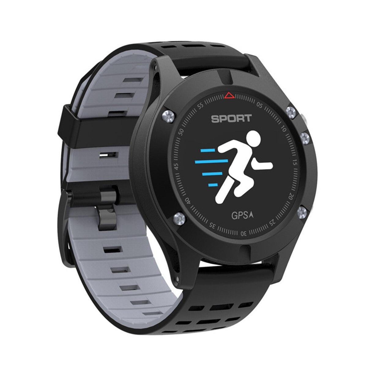 Смарт часы для мужчин NTNO.1 F5 Android smartwatch gps монитор сердечного ритма шагомер измерение температуры высота для IOS Android