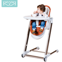 Babyruler Aluminium Frame Adjustable Portable High Baby dining Chair Mama Sandalyesi Newborn Infant Booster Seats Chair for baby