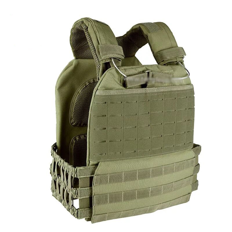 Tactical Adjustable Vest Military Airsoft Molle Waistcoat Combat Assault Plate Carrier Vest Hunting Protect Outdoor Equipment