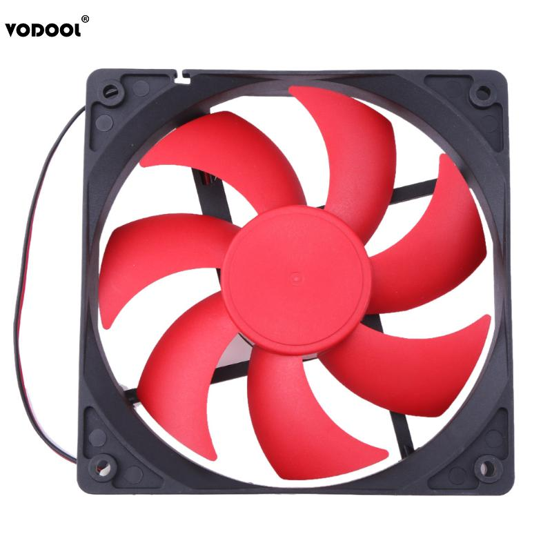 цены на 120 x 120 x 25mm DC12V 1800RPM 2Pin Cooling Fan Portable CPU Computer Case Fan Radiator Cooler for PC Computer New Promotion в интернет-магазинах