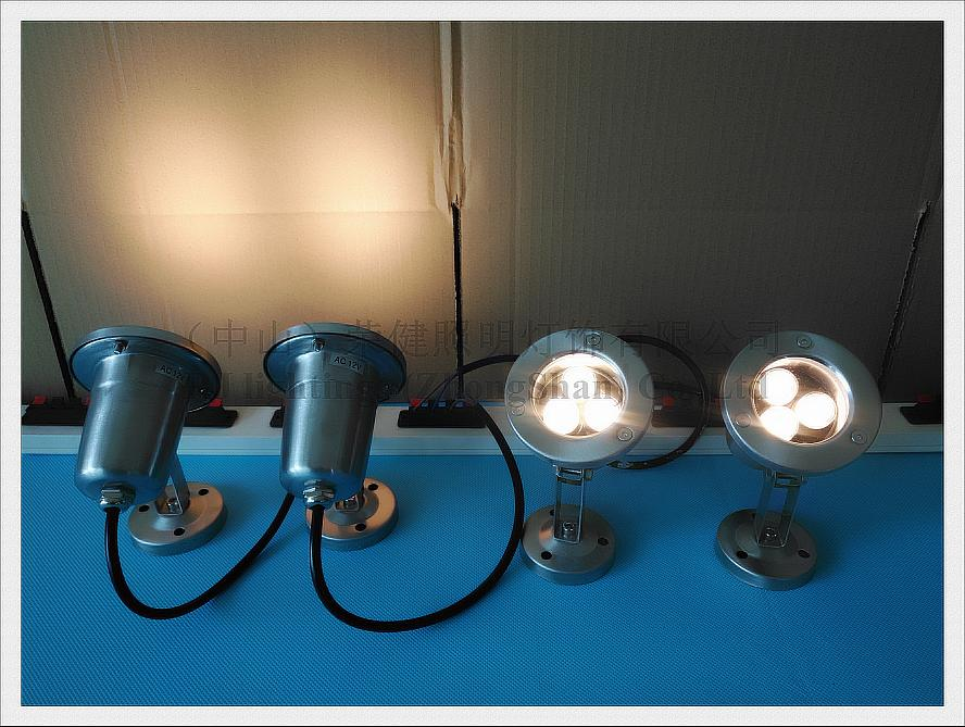 classical LED under water light underwater lamp LED swimming pool fountain light high power 1W LED 3W - 36W AC12V input