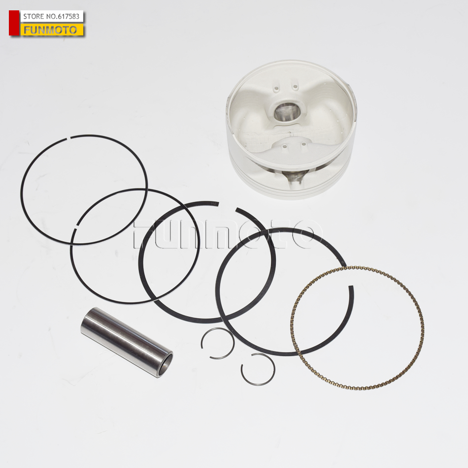PISTON / PISTON PIN / PISTON RINGS /CIRCLIP SUIT FOR HISUN 700CC /HS700 ATV ENGINE PARTS  piston piston pin piston rings circlip suit for hisun 700cc hs700 atv engine parts