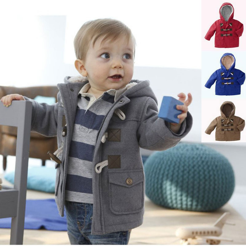 New 2016 Baby Boys Coat Fashion Kids Jackets for Boys Girls Winter Jacket Warm Hooded Children Clothing Children Outerwear