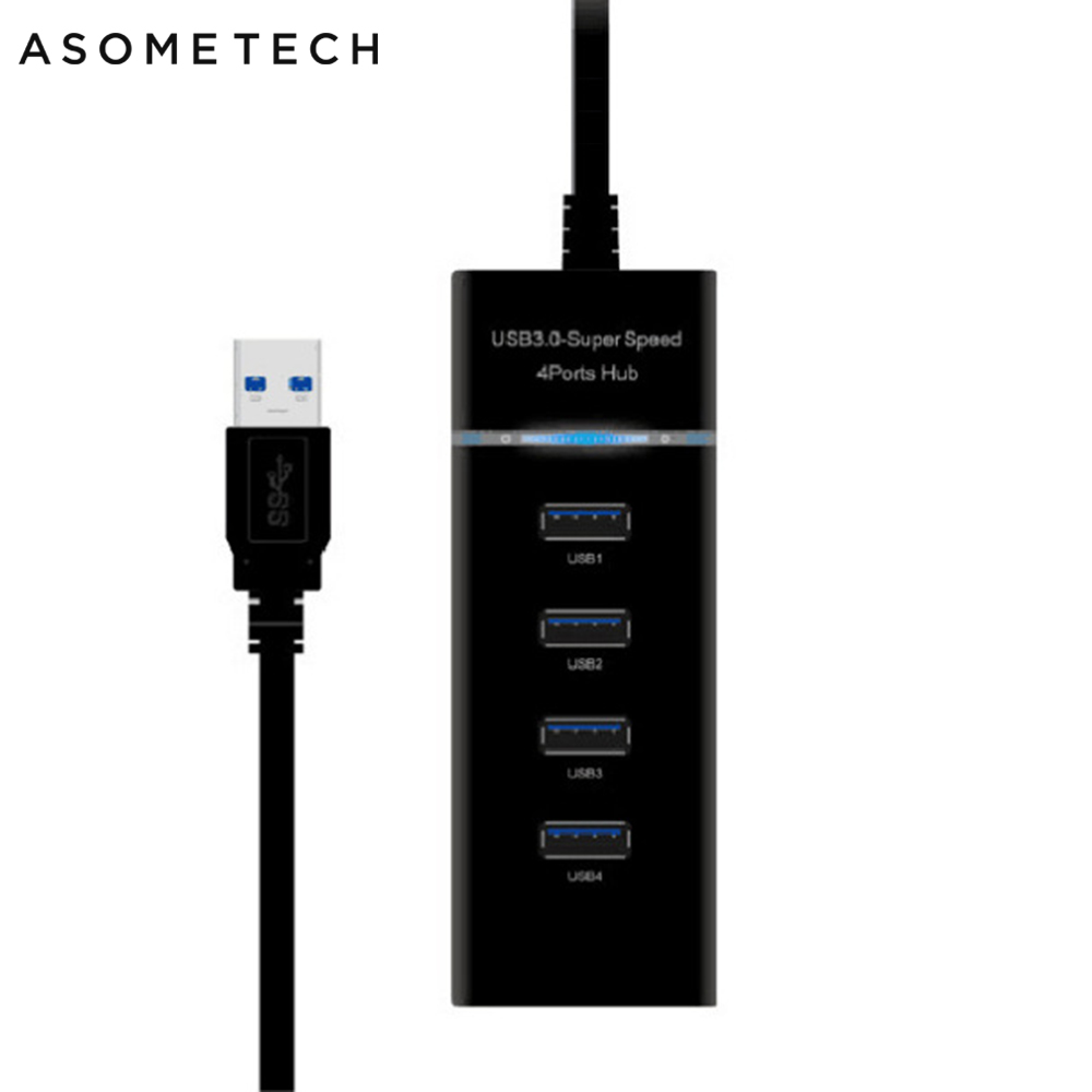 <font><b>USB</b></font> <font><b>Hub</b></font> 3.0 Super Speed 4 Ports Multi <font><b>USB</b></font> 3.0 <font><b>Hub</b></font> TF SD Card Reader <font><b>HUB</b></font> For Sony Playstation 4 <font><b>PS4</b></font> <font><b>Slim</b></font> Pro Xbox One PC Adapter image