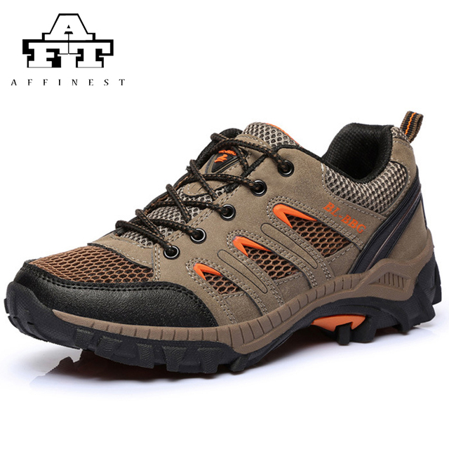 Men's Shoe Outdoor Synthetic Leather Leather Hiking Shoes