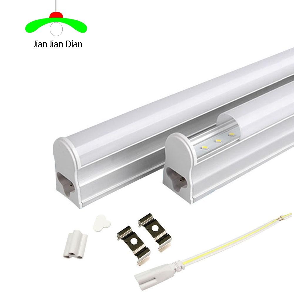 T5 LED Tube Light 300mm 6W 500lm 600mm 10W 900LM LED Light AC85-265V Epistar SMD 2835 CE & ROSH Warm White Cold White LED Lamp diy 10w 6000 6500k 800 900lm white light 9 led module dc 9 11v 3 pack