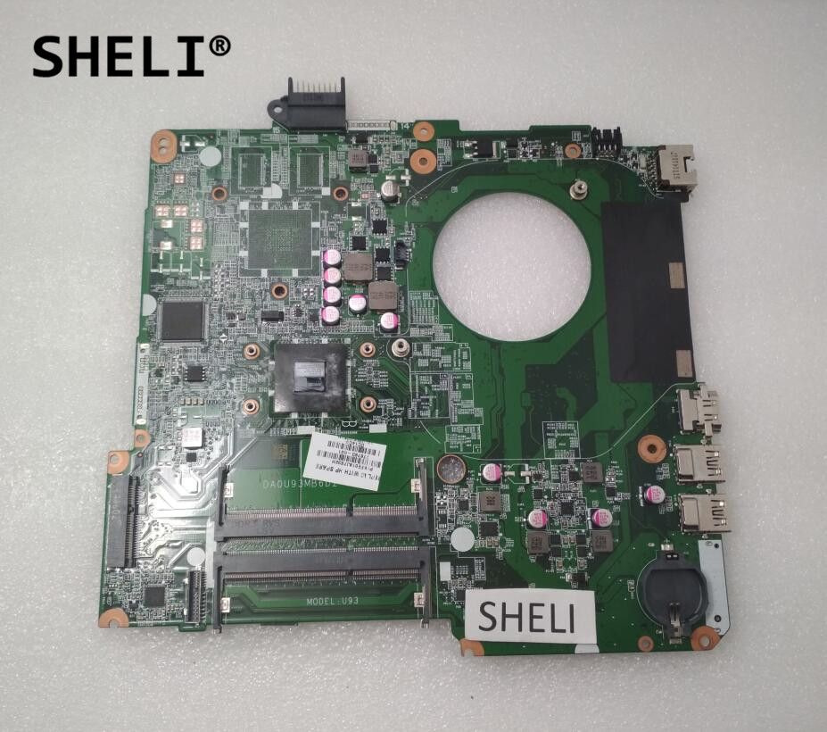 цены SHELI For HP 15 15-F Motherboard with E1-2100 cpu 776783-001 776783-501