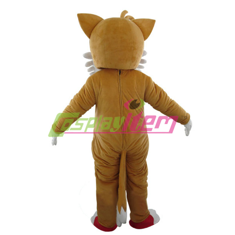 Customized New Sonic Hedgehog Mascot costume Miles Tails Prower Sonic Mascot costume Cosplay-in Mascot from Novelty u0026 Special Use on Aliexpress.com ...  sc 1 st  AliExpress.com & Customized New Sonic Hedgehog Mascot costume Miles Tails Prower ...