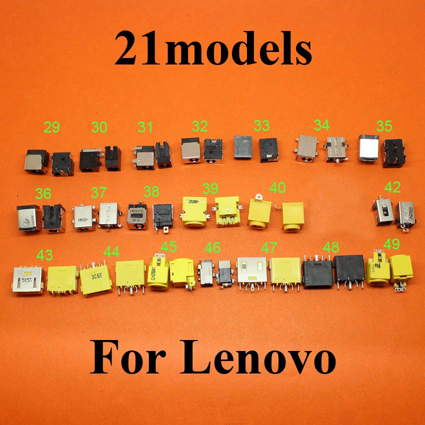 21Models For Lenovo X1 Carbon YOGA Square port Ultrabook Ideapad charging port Laptop DC Power Jack connector DC power Socket new dc jack connector for lenovo ideapad 100 14iby 100s 14iby 100 14ibr 100s 14ibr dc power jack charging port socket