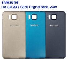 SAMSUNG Original Back Cover Phone Case For Samsung GALAXY Alpha G850Y G850K G850A G850F G850V G850 Phone Rear Anti-knock Cover для samsung galaxy альфа g850 g850f g850a g850t g850m жк сборки