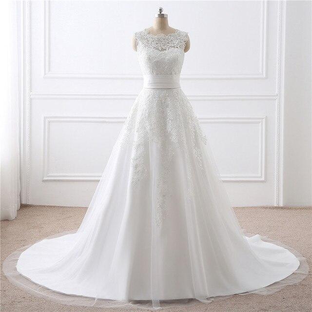 Elegan Dilepas Rok Pernikahan Gaun Vestido De Noiva Renda Bordiran Dua  Pernikahan Murah Gaun Nyata Foto Gaun PengantinUS  99.71 086b40979c5e
