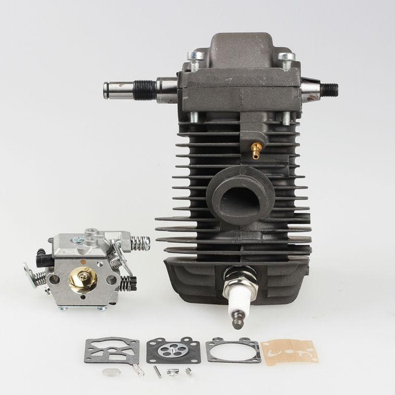 42.5 MM Cylindre Piston pour STIHL 023 025 MS230 MS250 Tronçonneuse Vilebrequin Carburateur Carb Avec Joint Moteur