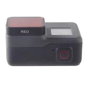 Image 2 - مرشح عدسات الكاميرا TENENELE Go Pro 7 استقطاب CPL/أشعة فوق بنفسجية/أحمر/أرجواني/أصفر طقم فلاتر لملحقات عدسات GoPro Hero 5 6 7 Black