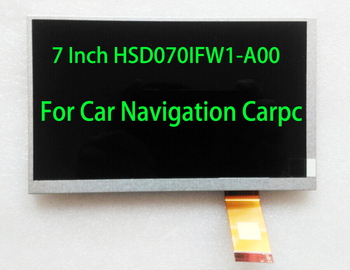 HSD070IFW1 7inch 1024*600 Resolution, 600 Brightness, Car Radio Carpc DIY Navigation LCD Screen With Driver Board Android win10 image