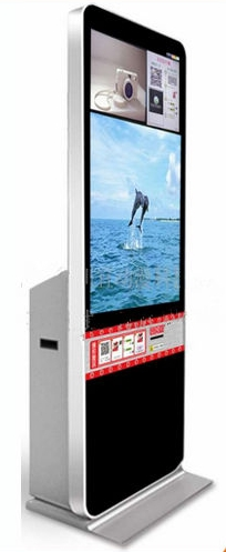 WIFI 42 Inch Interactive WIFI Touch Screen Kiosk Online Photo Print Machine/marketing Booth Kiosk With PC Built In