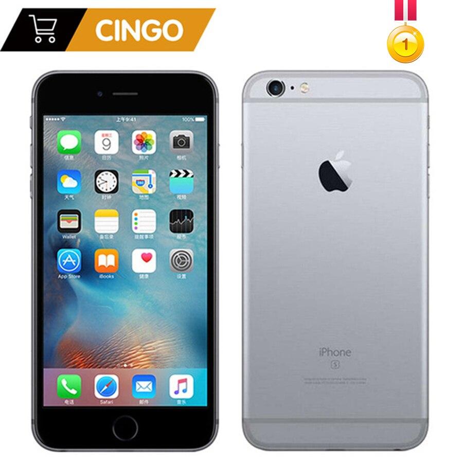 Déverrouillé Apple iPhone 6 S/6 s Plus 2 GB RAM 16/64/128 GB ROM 4.7 et 5.5 Dual Core 12.0MP Caméra 4 K Vidéo iOS LTE d'empreintes digitales