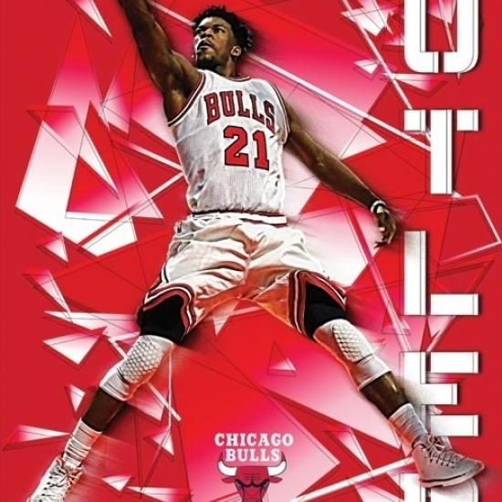 Chicago Bulls – Jimmy Butler Poster Print (22 x 34)