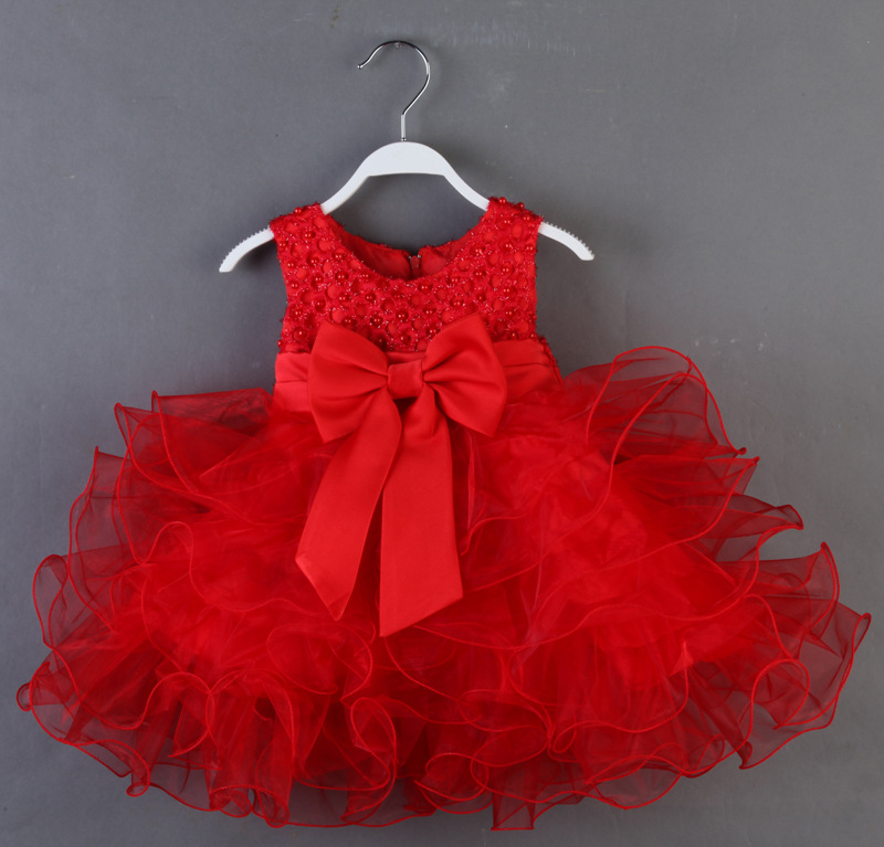 Beads party dress 1
