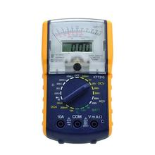 KT7310 Pointer Digital Display Analog Multimeter Voltage Current Precise Tester Set victor 78 multi process calibrator multimeter to measure output voltage and current signals analog transmitters vc78