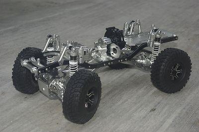 CNC aluminium 1:10 metal Racing RC Truck crawler option