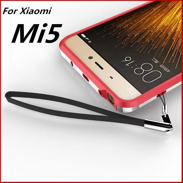 """Xiaomi Mi5 Pro Bumper case Luxury Deluxe Frame Cover Ultra Thin Protective aluminum Bumper For Xiaomi Mi5 M5 5.15"""" TX"""