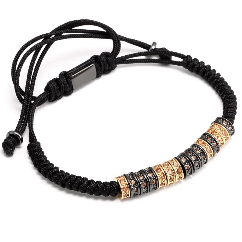 Bracelet de marque avec perles tressage  ...