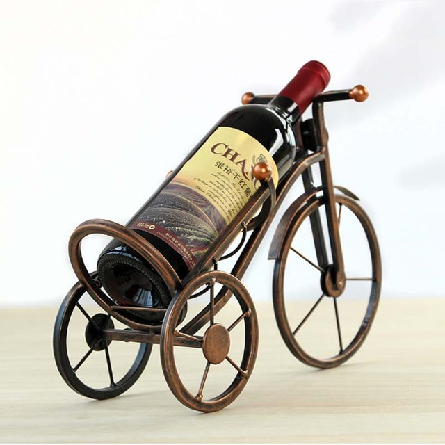 2 Pieces/set Classic Toys Bicycle Wine Rack Furniture Kitchen House  Furniture Toys Dollhouse