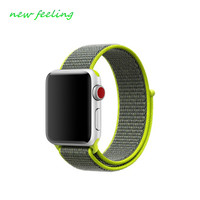 Sport Loop For Apple Watch Band 42mm 38mm Iwatch 3 2 1 Nylon Weave Strap Wrist