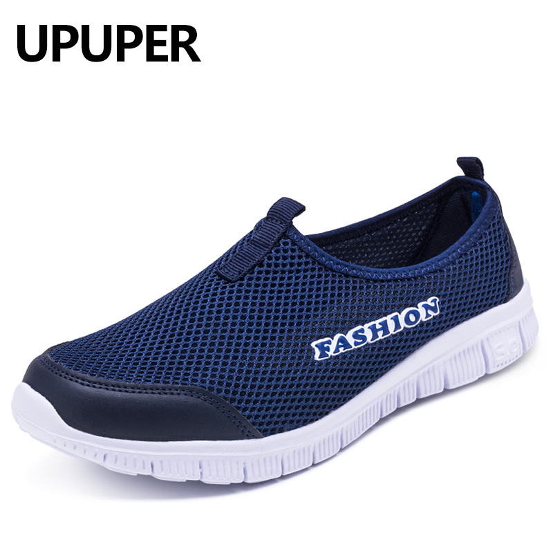 Spring Summer Women Sneakers Breathable Mesh Light Flat Loafers Casual Shoes Women Fashion Outdoor Walking Shoes Plus Size 35-43 1