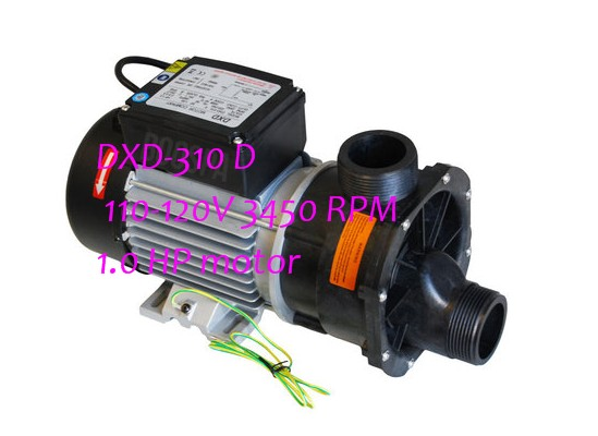 US And Canada Home Bath Bathtub Pump 1HP 750W DXD 310 D 110 120V