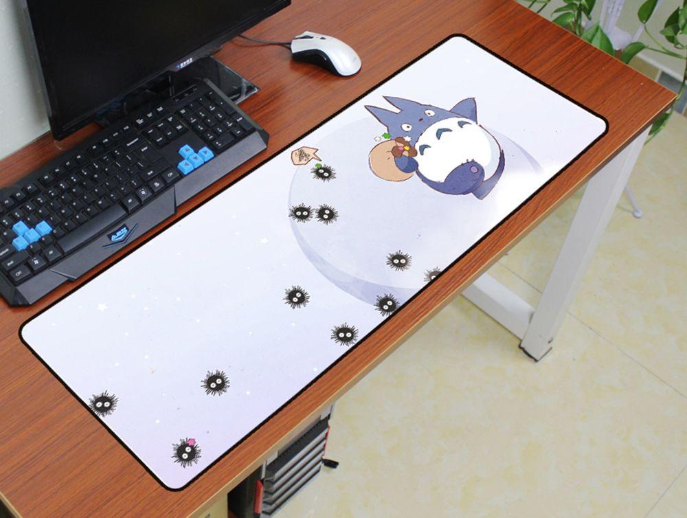 Totoro souris pad 900x300mm pad pour la souris notbook ordinateur De Noël cadeaux de souris gaming padmouse gamer à clavier souris tapis